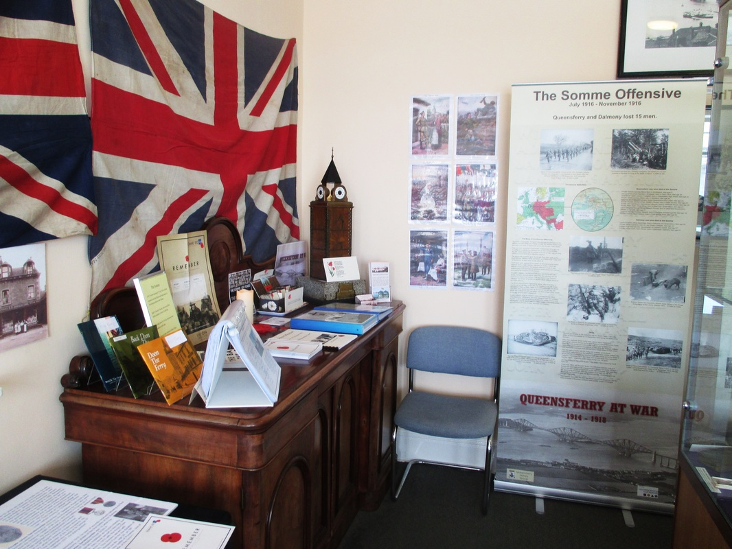 This Was Held In Our Queensferry At War Exhibition Room Museum And Dalmeny Lost 15 Men The Somme You Can Read More